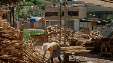 Sawmill LT15 Cajamarca Peru